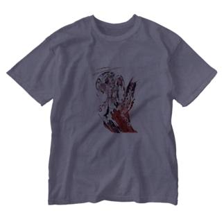 赤天使ちゃん Washed T-shirts