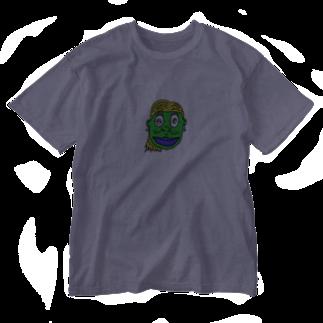 現代社会の現代社会5 Washed T-shirts