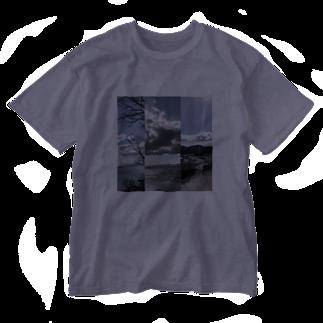 Pakiraの春の景色 Washed T-shirts