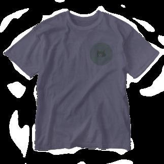 本日も晴天なりの白唄 Washed T-shirts