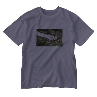 キラキラお薬 Washed T-shirts