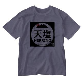 天塩 Washed T-shirts