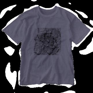 ポチとお兄ちゃんの木皮 Washed T-shirts