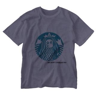 あまびえアートチャレンジ@いしかわじゅん Washed T-shirts