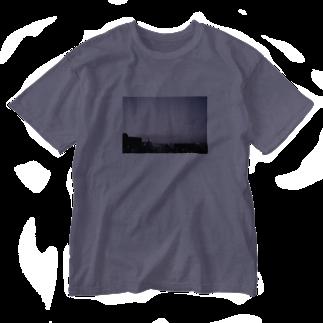 landscape_mkのlandscape 02 Washed T-shirts