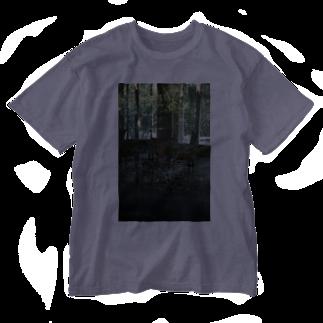 MOORのThrough Green Washed T-shirts