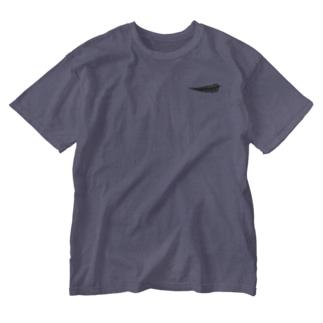 シダ植物 Washed T-shirts