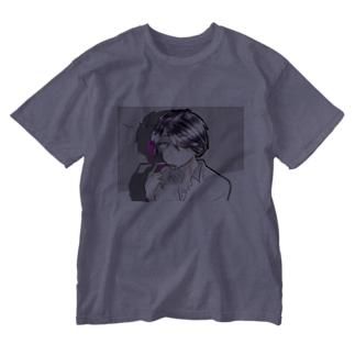 裏表悪魔くん Washed T-shirts