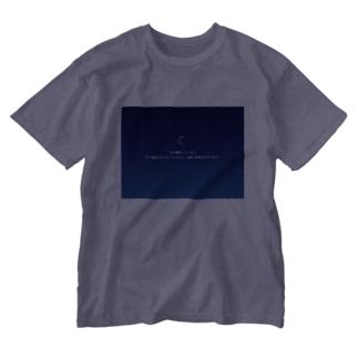 時間のかかる作業 Washed T-shirts