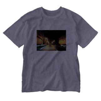 サイレントタウン Washed T-shirts