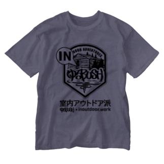 Too fool camper ! × ゆるBUSH OUTDOOR ADVENTURES × inoutdoor.work スーパーコラボ!!! Washed T-shirts