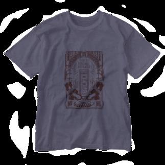 Tokyo-Bondage-Laboratoryの東京拘束研究所 Washed T-shirts