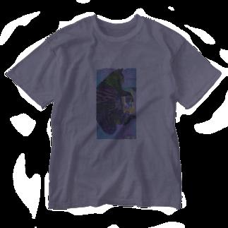 jeniの巨大猫 Washed T-shirts