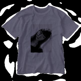chisatoptrの千聖chisato Washed T-shirts