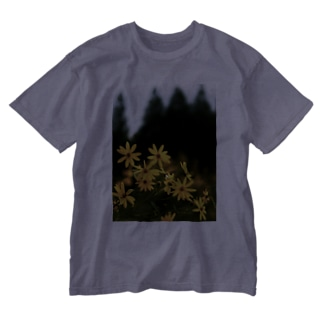 菊芋と樹木 DATA_P_139 tree Washed T-shirts