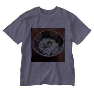 うどん Washed T-shirts