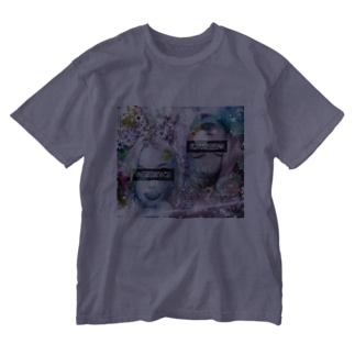 可愛い女の子(演) Washed T-shirts