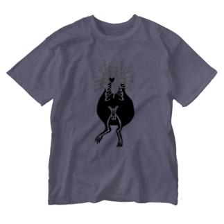モルモットのレントゲン写真 Washed T-shirts