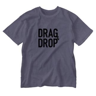 DRAG&DROP Washed T-shirts
