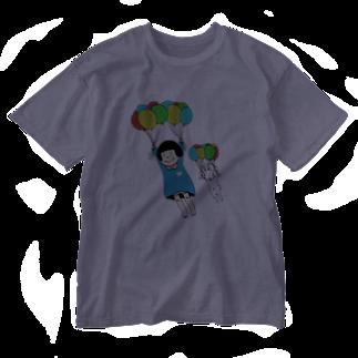 ぽにぽに通信ショップのflayaway Washed T-shirts