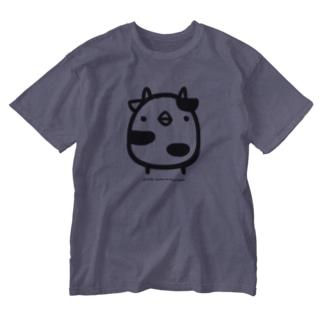 でかでかひよこうし Washed T-shirts