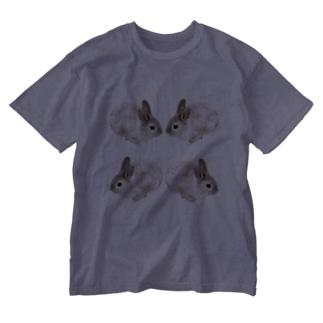 usg白うさぎtシャツ Washed T-shirts
