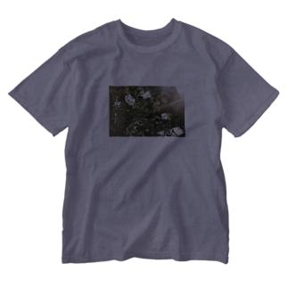春の匂い Washed T-shirts
