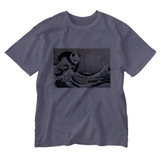 不忍池大反乱 Washed T-shirts