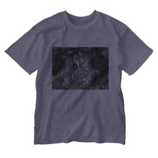 ヤマノキズ Washed T-shirts