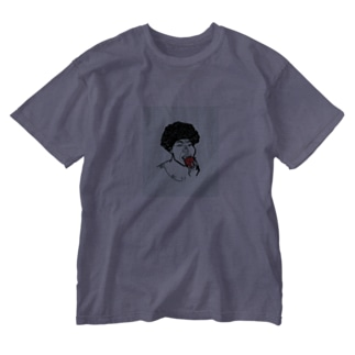 架空人物:きゃんちゃん Washed T-shirts