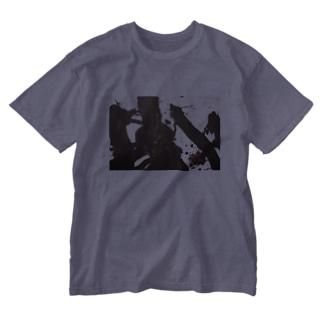 限定 「生は生たりえるか」を纏う -2 Washed T-shirts
