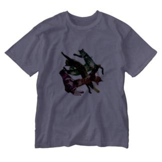 crazyCAT2 Washed T-shirts