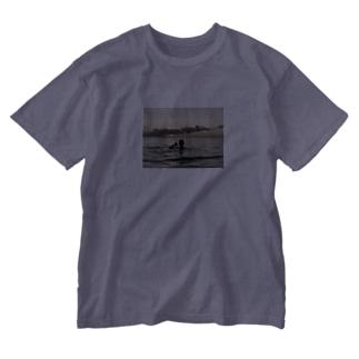 #OuardiniのCarribean Washed T-shirts