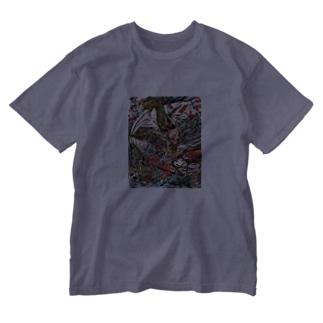 ガゴゼ(元興寺の鬼退治) Washed T-shirts