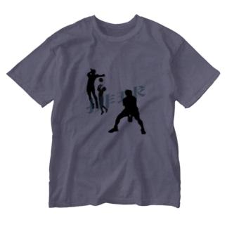 排球【バレーボール】 Washed T-shirts