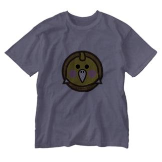 原田専門家のパ紋No.3384 はるあやパパ Washed T-shirts