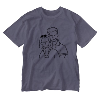 Aliviostaのイラスト #5 Washed T-shirts
