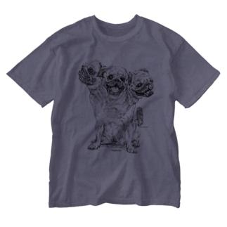 Pugberus Washed T-shirts