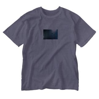 シーシャ屋さんの天井Tシャツ Washed T-shirts