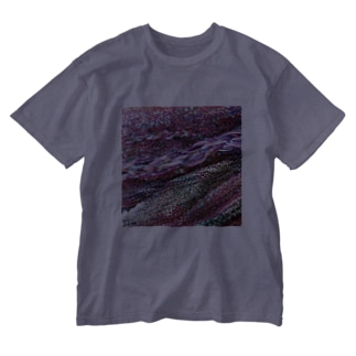 花曇り/カヨサトーTX Washed T-shirts