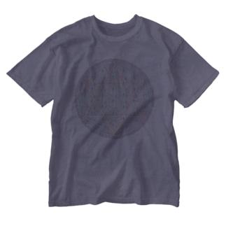 Rainbow Flower of Life & Hexagram Washed T-shirts