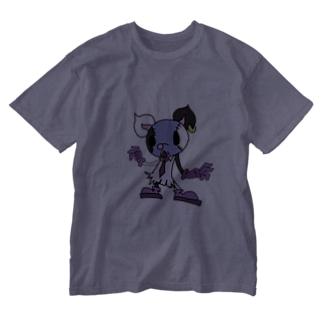 ネズミ🐁🐀🐆17liveのねずみのH【1】 Washed T-Shirt