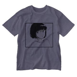 サマーガール Washed T-shirts