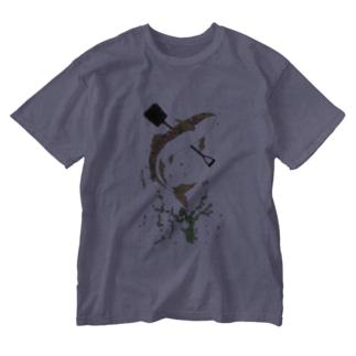 球磨川 Washed T-shirts