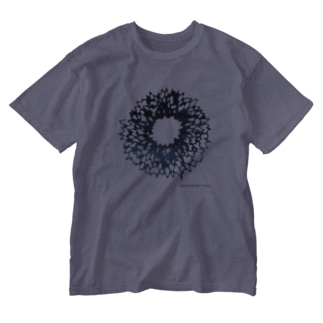 BUNCHO METHOD STOREの【ノイズ】 Flower Washed T-shirts