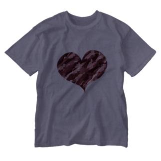 アートハート Washed T-shirts