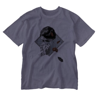 情事に絡む糸 Washed T-shirts