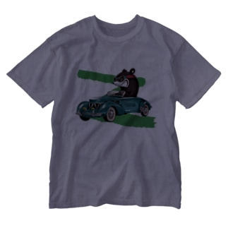 RACING KNUCKLE BEAR Washed T-shirts