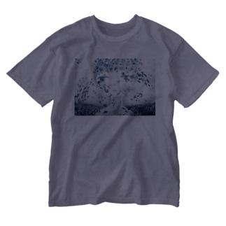 海と街とおんなのこ Washed T-shirts