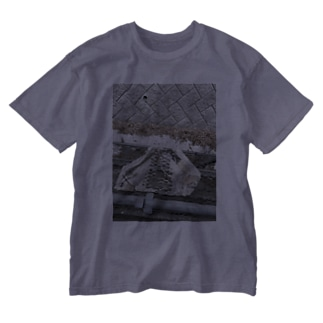 溶ケタ紙 Washed T-shirts